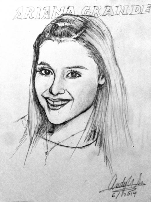 Ariana Grande by andrew
